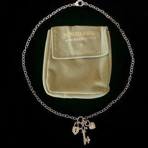Judith Ripka Jewelry - Judith Ripka Heart Lock and Key Necklace